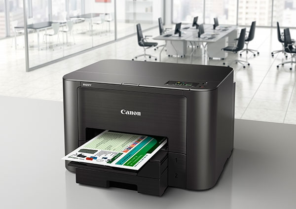   Máy in Canon MAXIFY iB4070 sử dụng mực in không phai