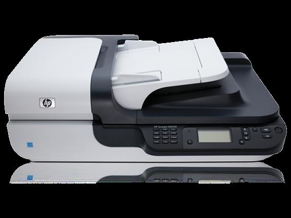 | Máy scan HP N6350 (L2703A) - Scan qua mạng Lan Khổ A4