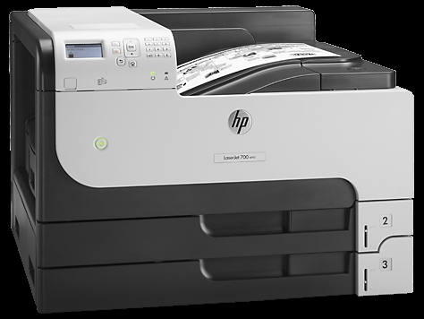 | Máy in HP LaserJet Enterprise 700 Printer M712dn (CF236A) (in 2 mặt khổ A3, in mạng)