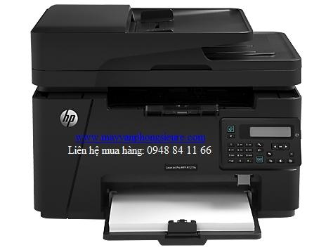 | Máy in HP đa chức năng M127fn ((CZ181A) - Khổ A4, phù hợp VP nhỏ