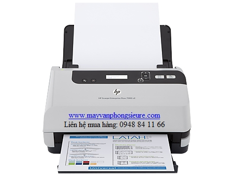 | Máy Scanner HP 7000 s2 (L2730A) - Tự động đảo mặt, tốc độ cao Khổ A4