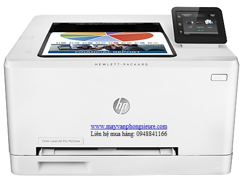 | Máy in HP Color LaserJet Pro M252dw