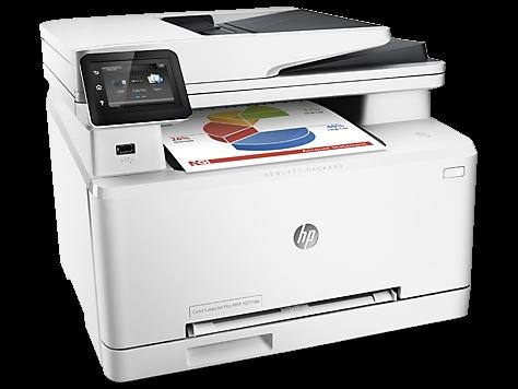 | Máy in laser màu đa chức năng HP Laserjet MFP M277dw