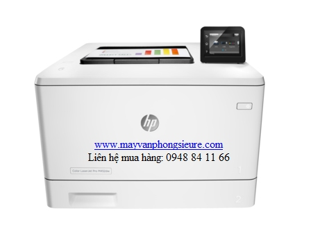 | Máy in HP Color LaserJet Pro M452DW