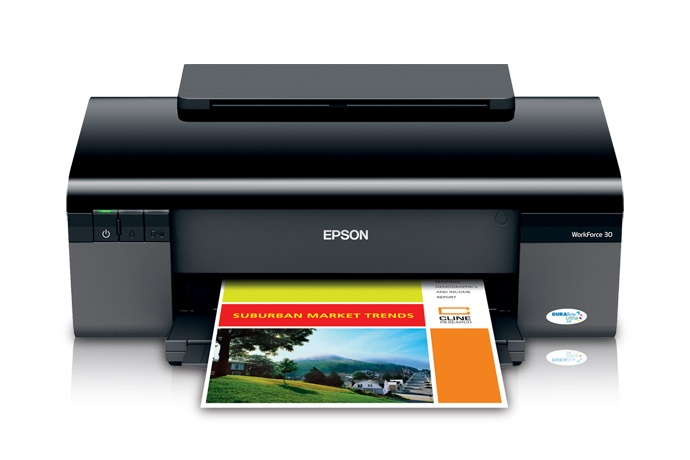 | Máy in Epson  workforce 30 - Bán may in phun mau epson workforce 30