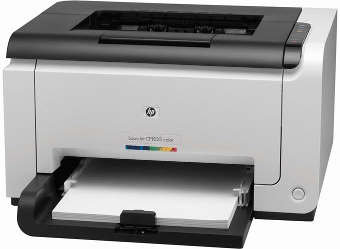 | Máy in Laser màu HP LaserJet Pro CP1025 (CF346A)