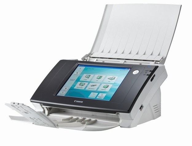 | Máy scan kết nối mạng, bảo mật vân tay Canon ScanFront 300P