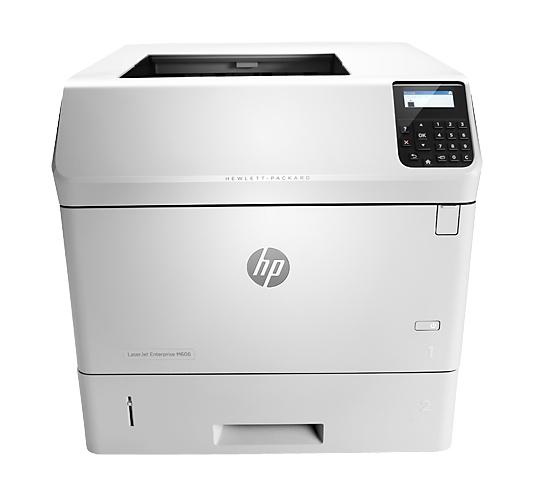 | Máy in HP LaserJet Enterprise M606dn