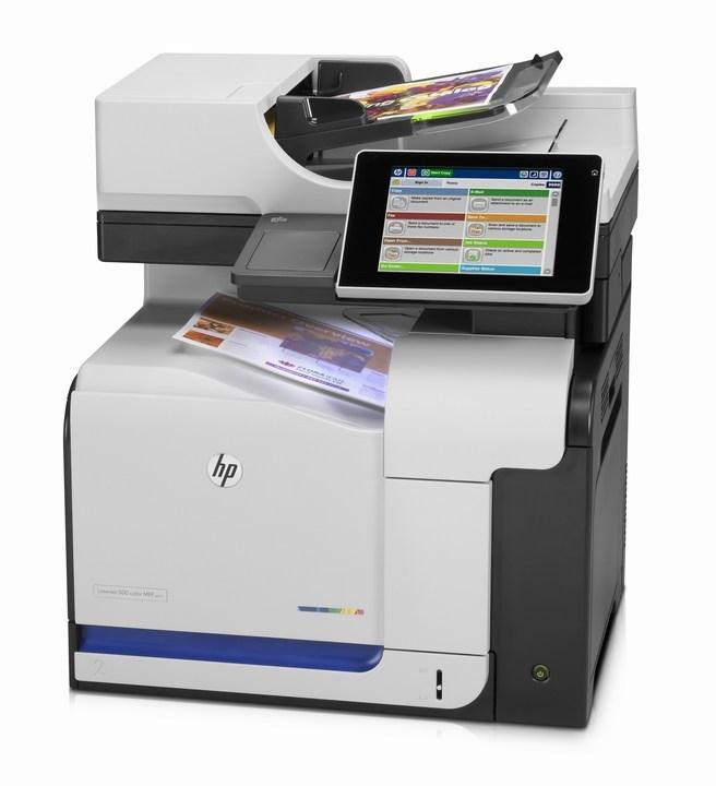 | Máy in Laser màu đa chức năng HP LaserJet Enterprise 500 color MFP M575DN