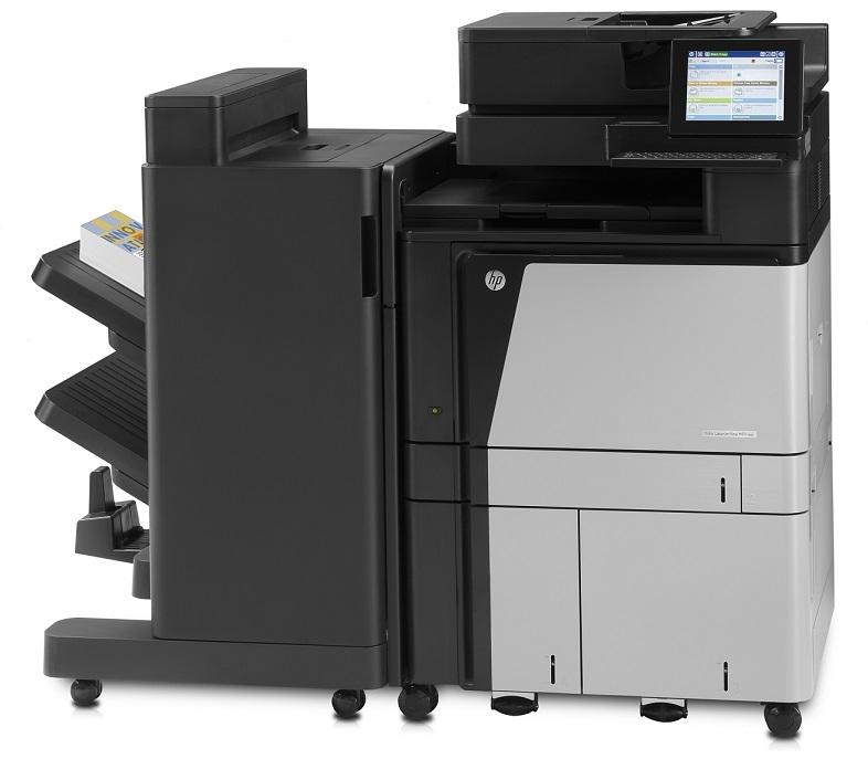 | Máy in Laser màu đa chức năng khổ A3 HP Color LaserJet Enterprise Flow M880z