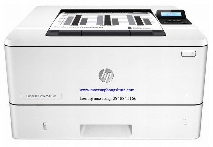 | Máy in Laser HP LaserJet Pro M402n