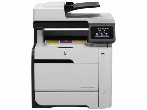 | Máy in Laser màu đa chức năng HP LaserJet Pro 300 color MFP M375NW