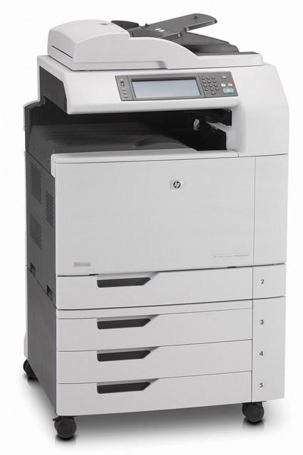 | Máy in Laser màu đa chức năng khổ A3 HP Color LaserJet CM6040 MFP