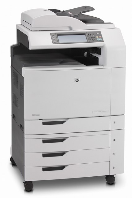 | Máy in Laser màu đa chức năng khổ A3 HP Color LaserJet CM6040f MFP