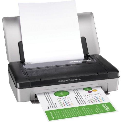 | Máy in phun màu xách tay di động HP OfficeJet 100 mobile