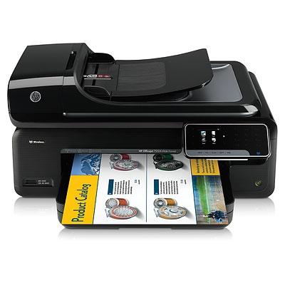 | Máy in phun màu không dây đa chức năng khổ A3 HP OfficeJet 7500 Wide Format E910A
