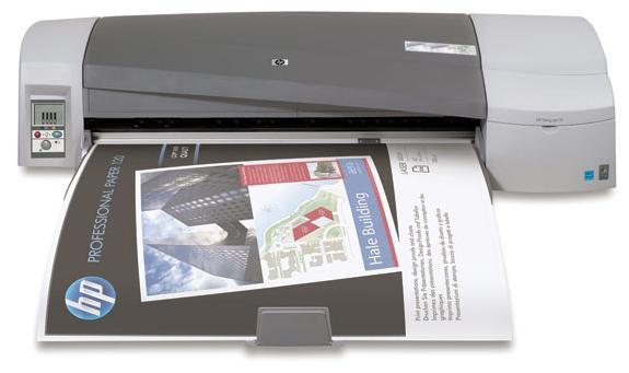 | Máy in màu khổ lớn HP Designjet 111 24-in Printer