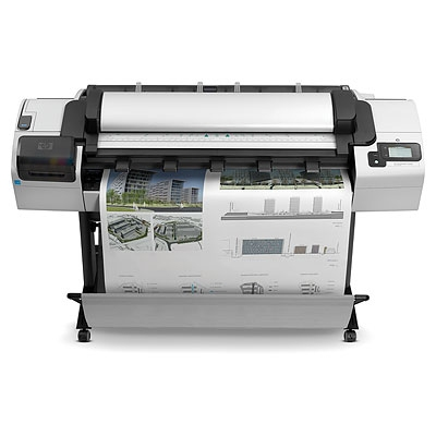 | Máy in màu khổ lớn HP Designjet T2300 eMultifunction 44-in Printe