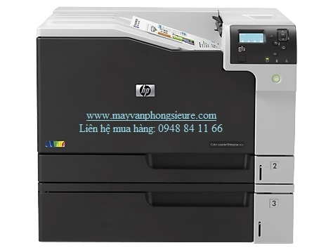 | Máy in HP Color LaserJet Enterprise M750dn