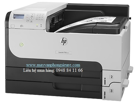 | Máy in HP LaserJet Enterprise M712dn