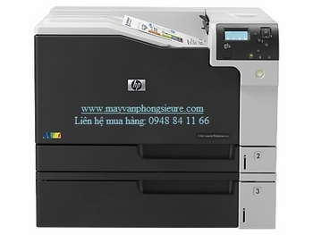 | Máy in laser màu khổ A3 HP Color LaserJet Enterprise M750n