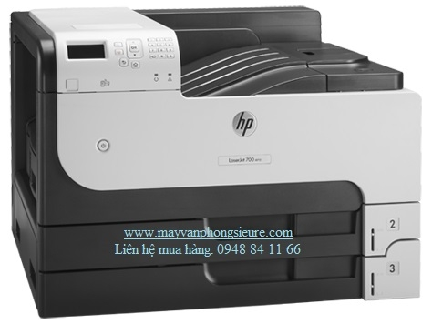 | Máy in HP LaserJet Enterprise 700 Printer M712dn