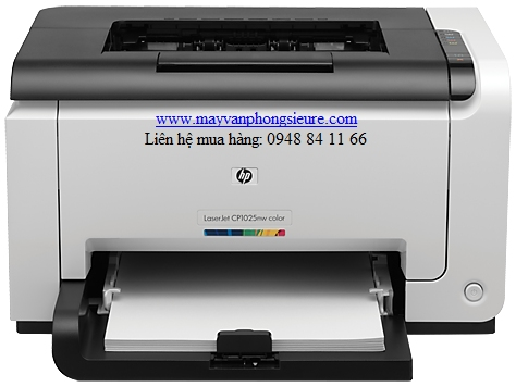 | Máy in HP Color LaserJet Pro CP1025NW