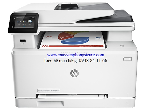 | Máy HP color Laserjet MFP M277DW