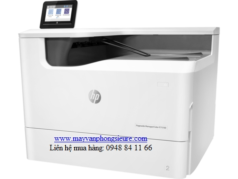 | Máy in laser màu HP PageWide Managed Color E75160dn