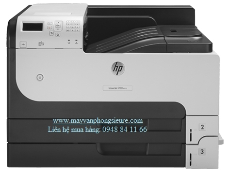 | Máy in HP LaserJet Enterprise M712n