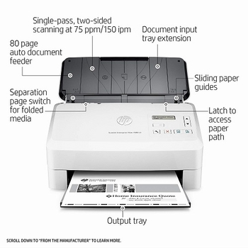 | Sửa máy Scan HP ScanJet Enterprise Flow 7000s3