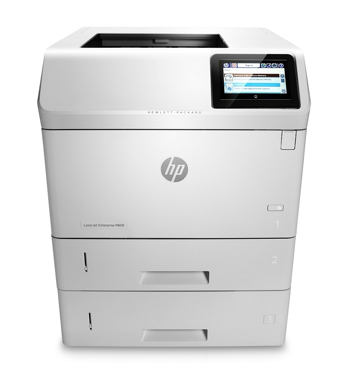 | Máy in HP LaserJet Enterprise M605x