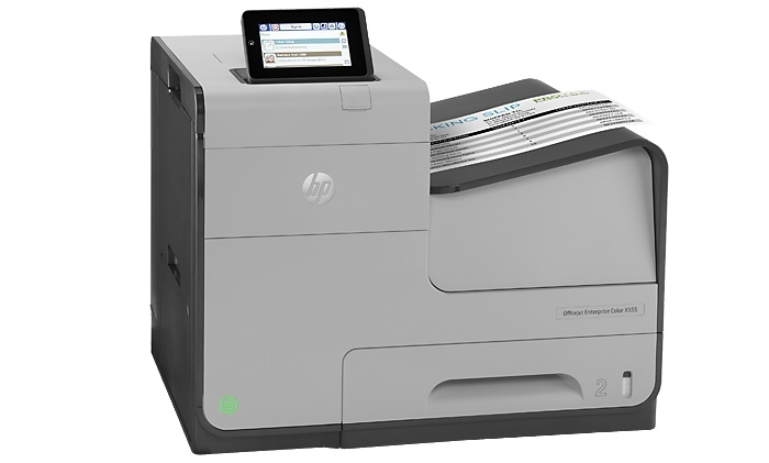 | Máy in HP Officejet Enterprise Color X555dn
