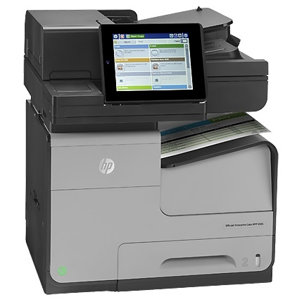 | Máy in HP Officejet Enterprise Color MFP X585dn
