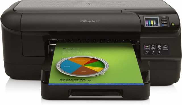| Máy in HP OfficeJet Pro 8100 ePrinter